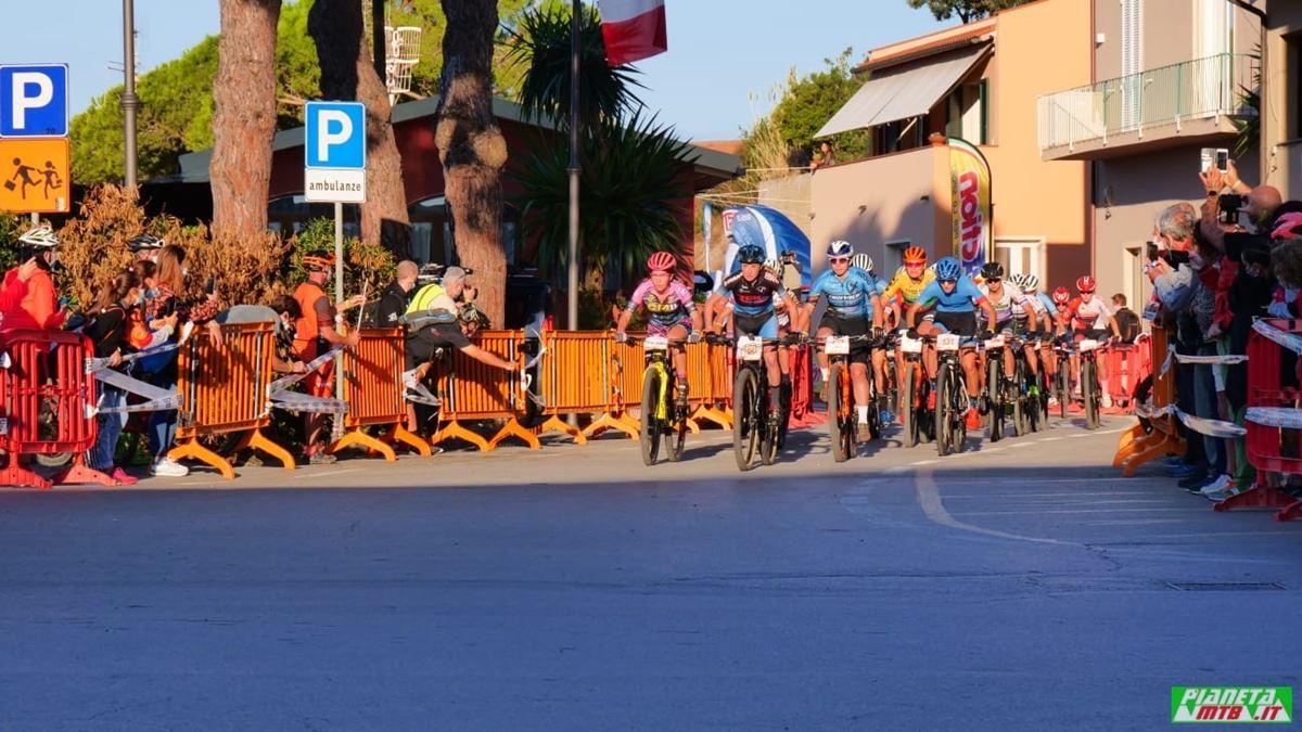 Partenza donne, campionato italiano marathon