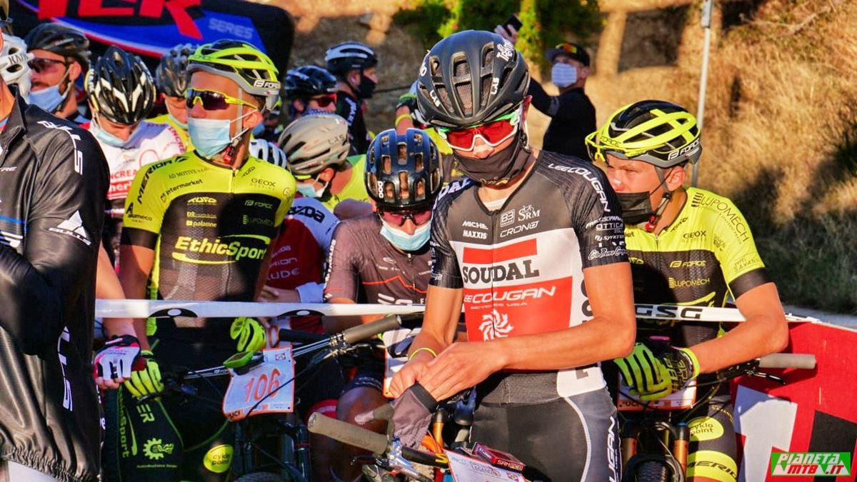 Tony Longo al campionato italiano marathon