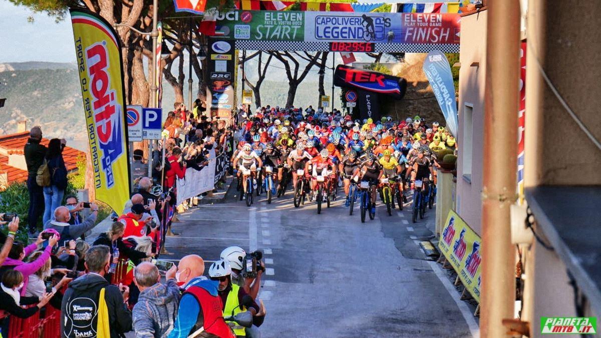 Partenza uomini, campionato italiano marathon