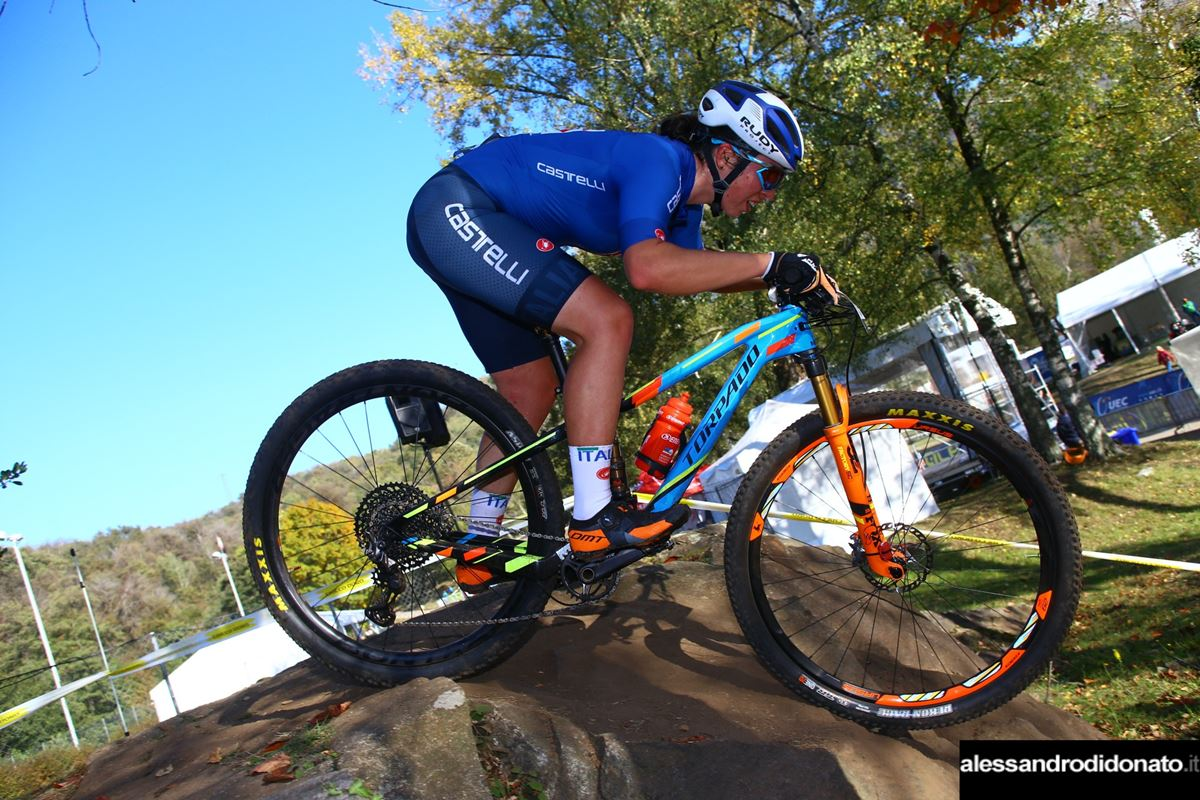 Martina Berta - Europeo XCO Under 23