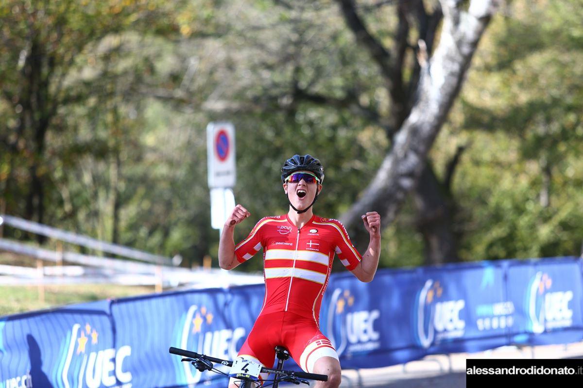Oliver Vedersø SØLVHØJ campione d'Europa Junior MTB