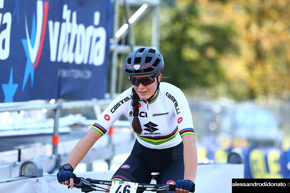Gaia Tormena al campionato d'Europa XCE 2020 - Monte Tamaro (Svizzera)