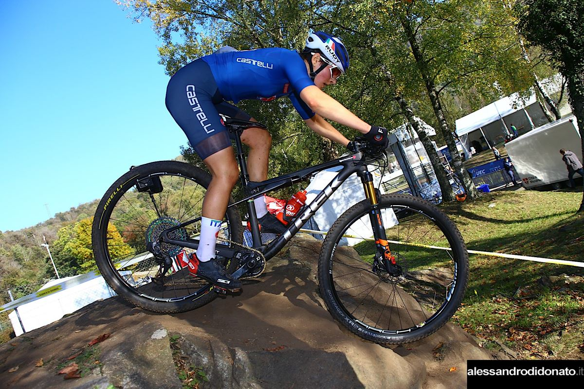 Giorgia Marchet europeo XCO donne under 23