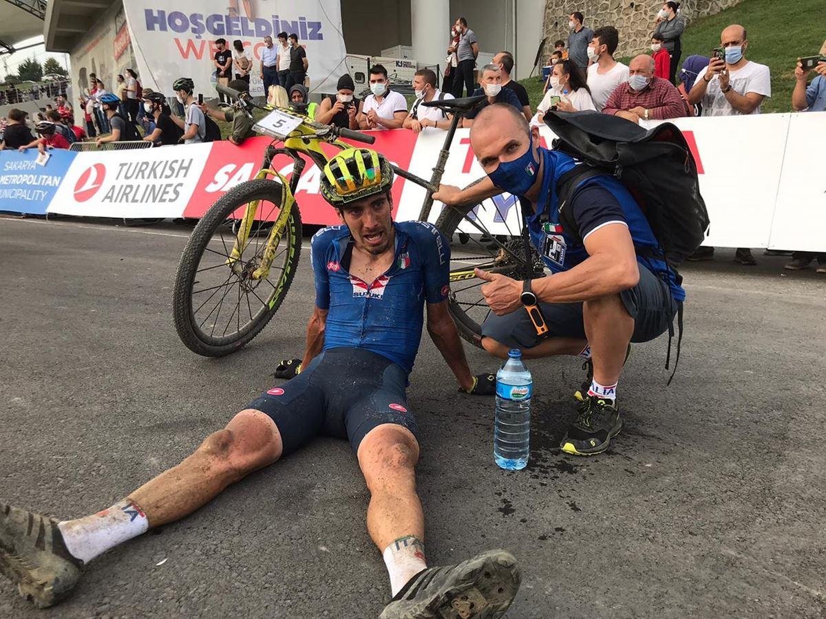 Juri Ragnoli al mondiale marathon 2020