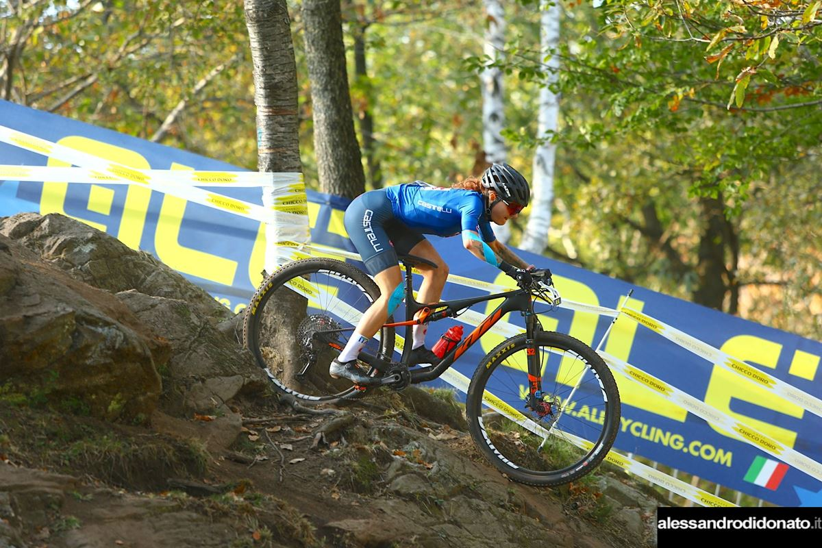 Marika Tovo all'Europeo XCO Under 23 women