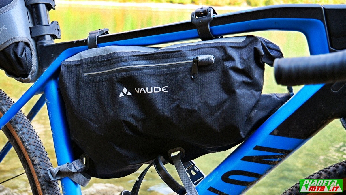 Vaude Trail Frame, borsa bikepacking