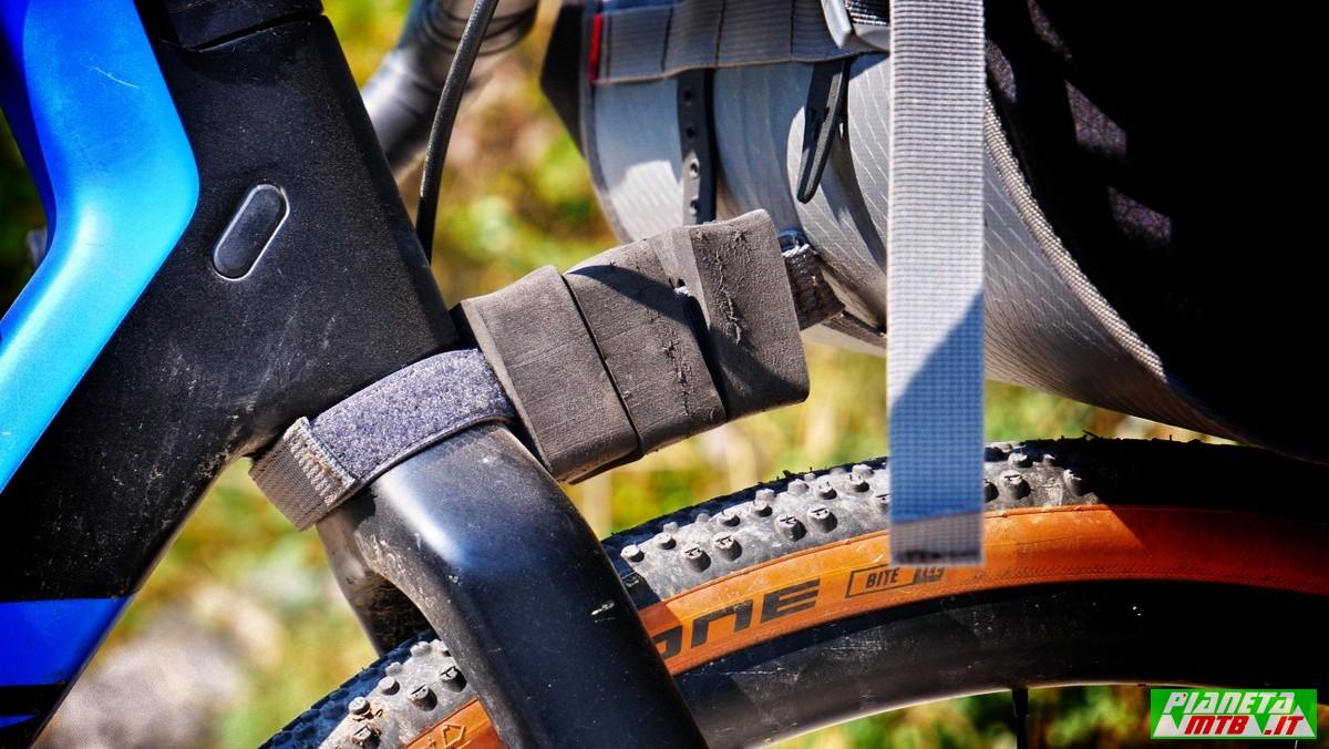 Vaude Trail Front, borsa bikepacking