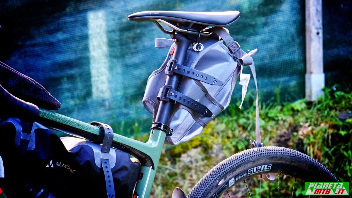 Vaude Trail Saddle, borsa bikepacking
