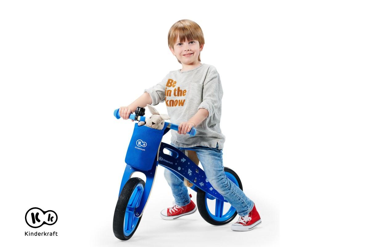 Bicicletta in legno senza pedali Kinderkraft