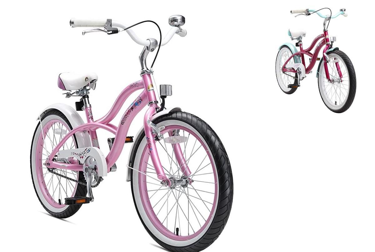 Bikestar mountain bike bambina con ruota 20 pollici