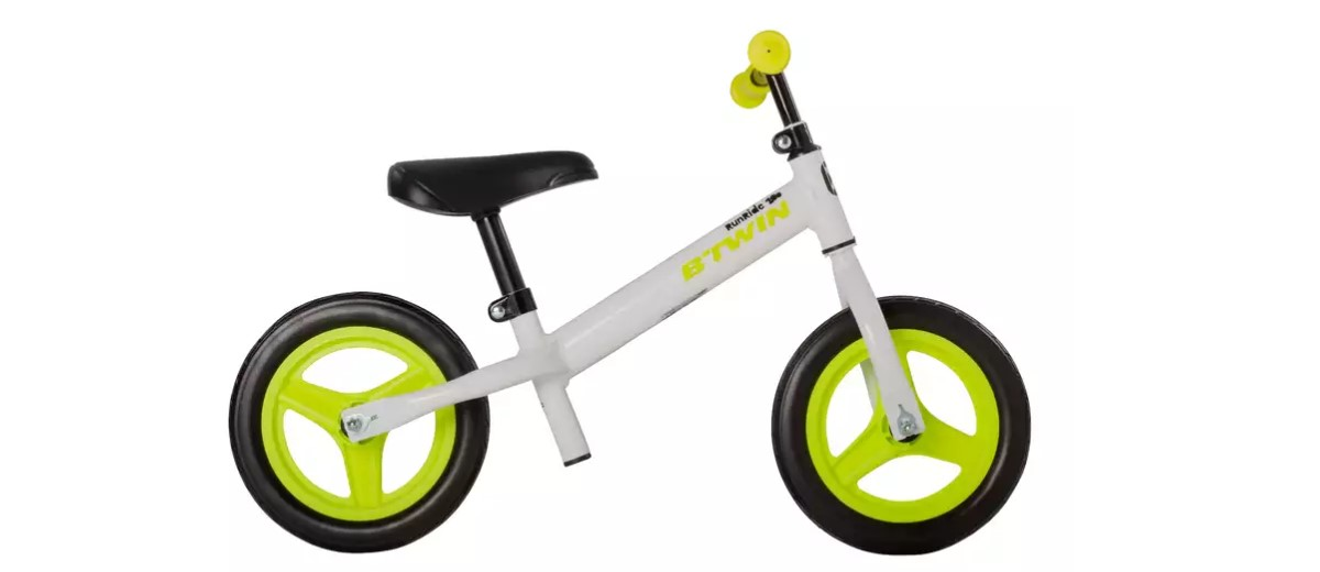 Decathlon BTwin Runride 100 bici bambini da 2 a 4 anni