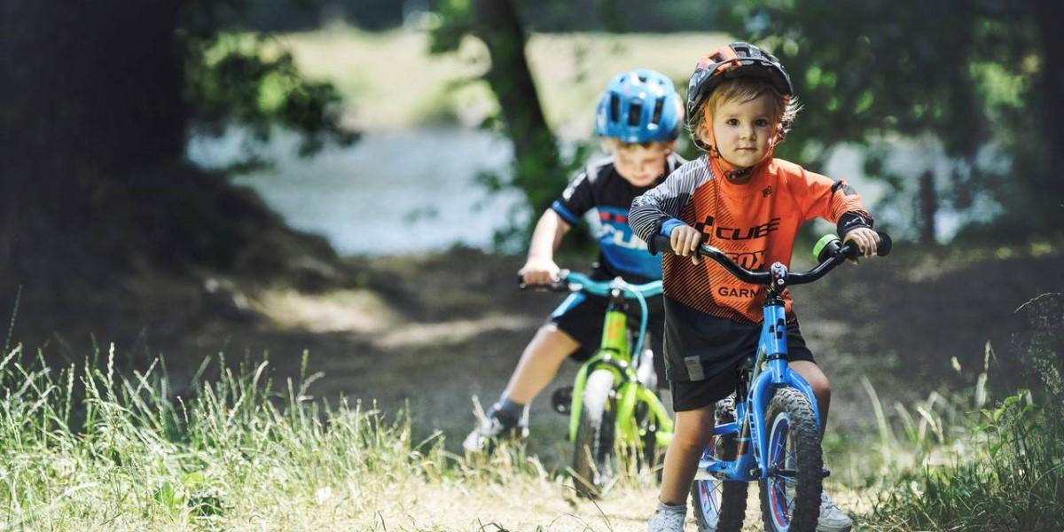 Bicicletta senza pedali per bambini, marca Cube Bike