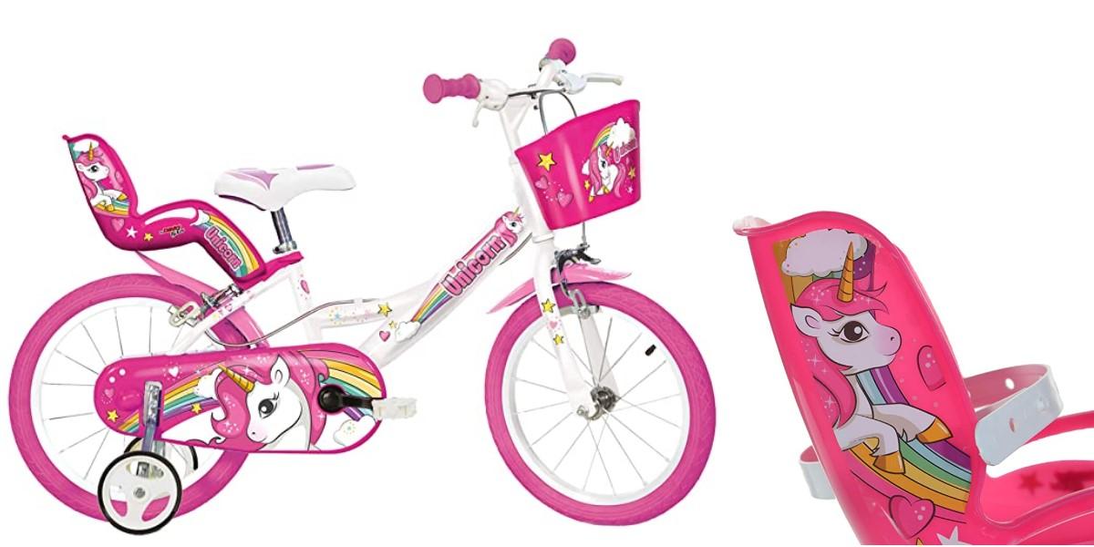 Dino Bike Unicorn bicicletta bambina 16''