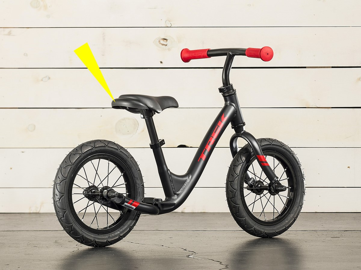 Bicicletta senza pedali Trek