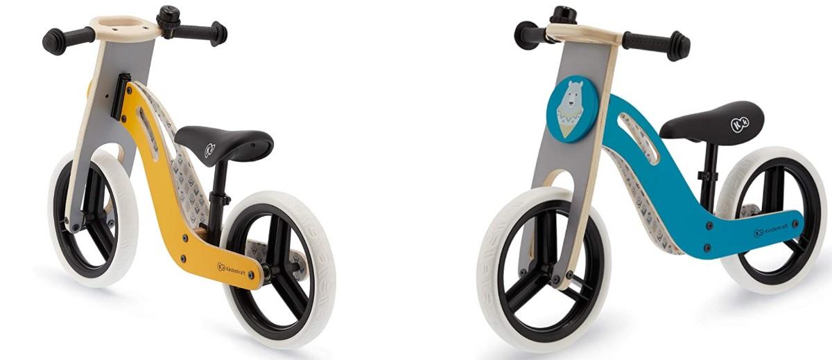 Kinderkraft Uniq, bici in legno senza pedali