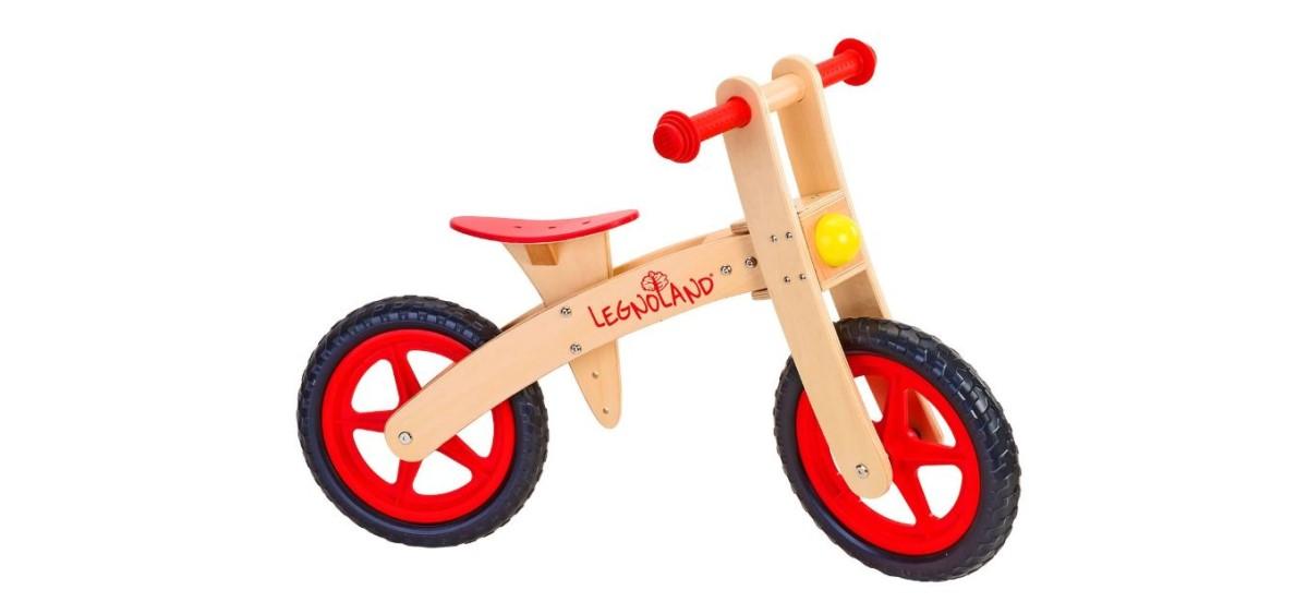 Legnoland bicicletta senza pedali per bambini 24 mesi