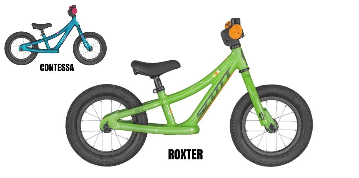 Scott Roxter Walker 12 - bicicletta bambino - bambina 3 anni