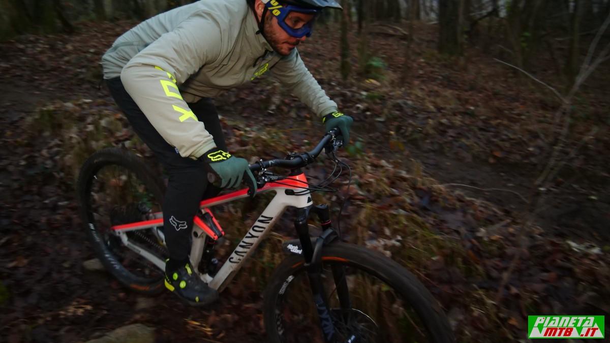 Abbigliamento invernale mountain bike