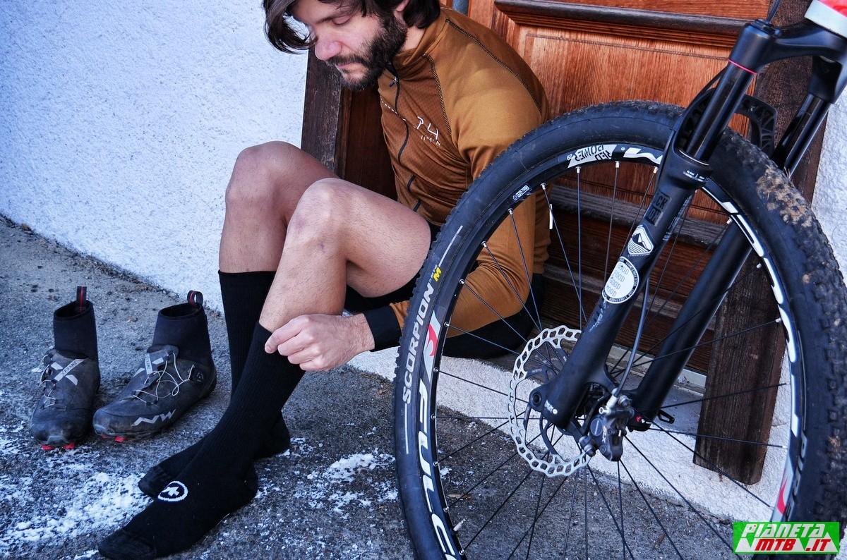 Calze invernali - ciclismo