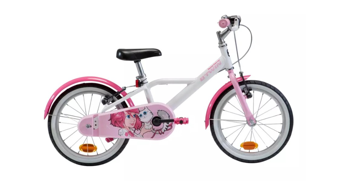 Decathlon BTwin Docto Girl 16 pollici - bici bambina