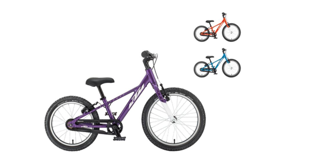KTM Wild Cross 16 bici bambino