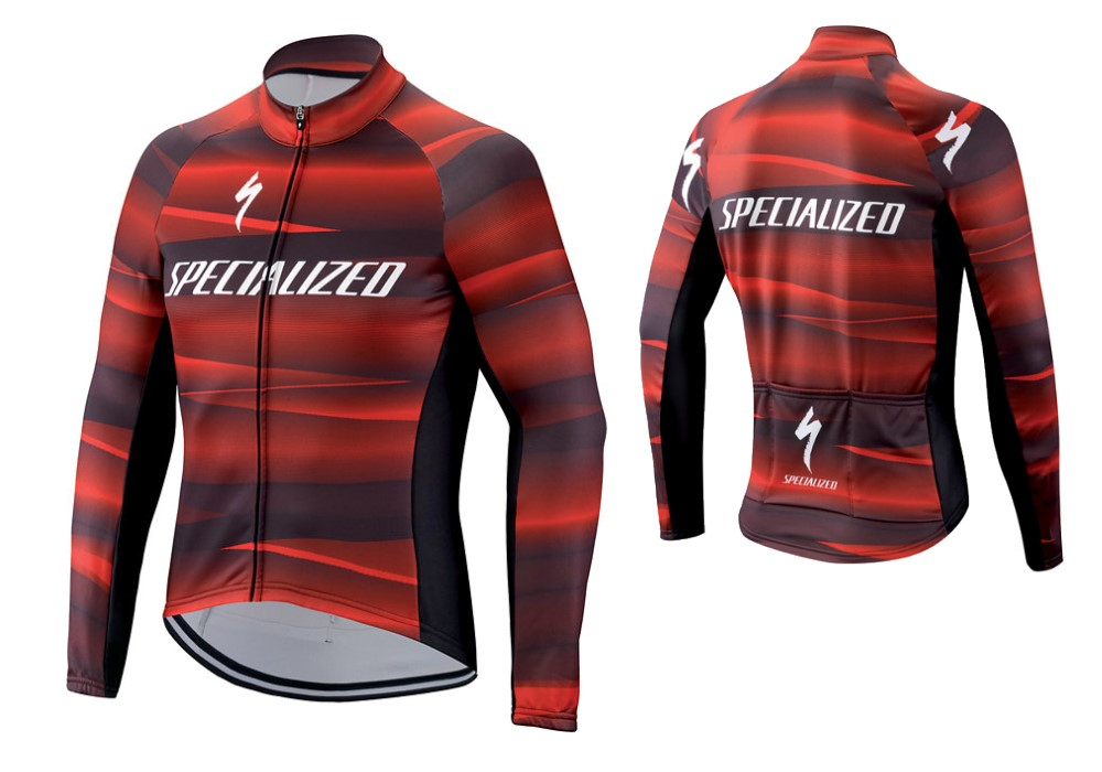Maglia ciclismo Specialized ML Therminal SL Team Expert