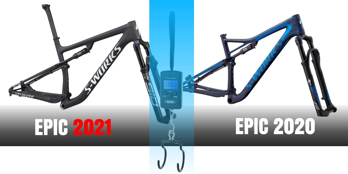 Specialized Epic - peso telaio S-Works