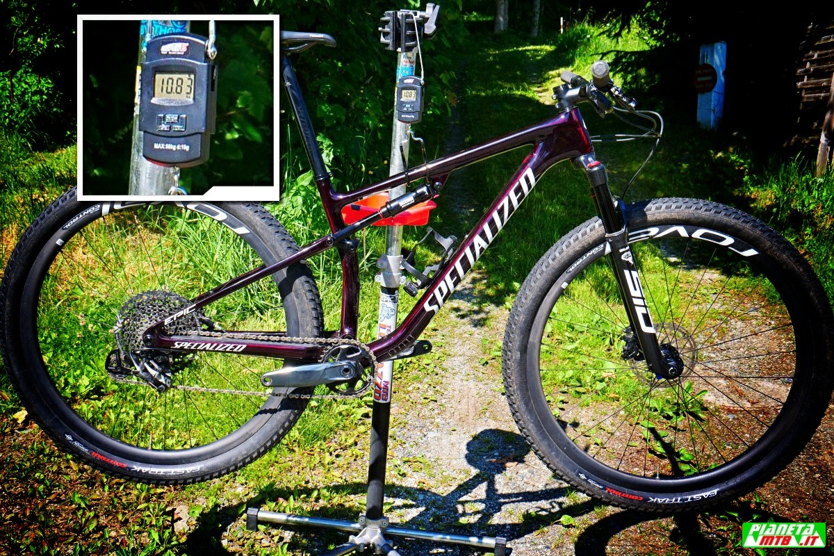 Peso Specialized Epic Expert 2021