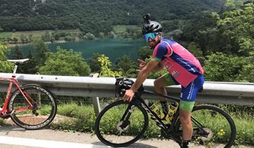 Luca Cerri ha concluso il Giro dei 6 laghi