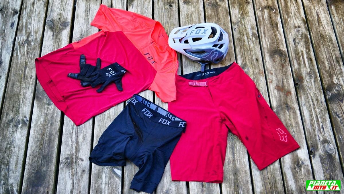 Fox Racing abbigliamento Flexair mountain bike
