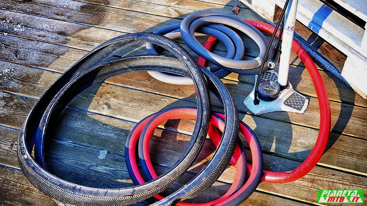 Inserti antiforature - mouse salsicciotti per gravel bike