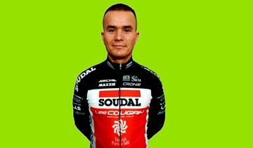 Il MIG Alexey Medvedev firma con il Soudal Lee Cougan Racing team