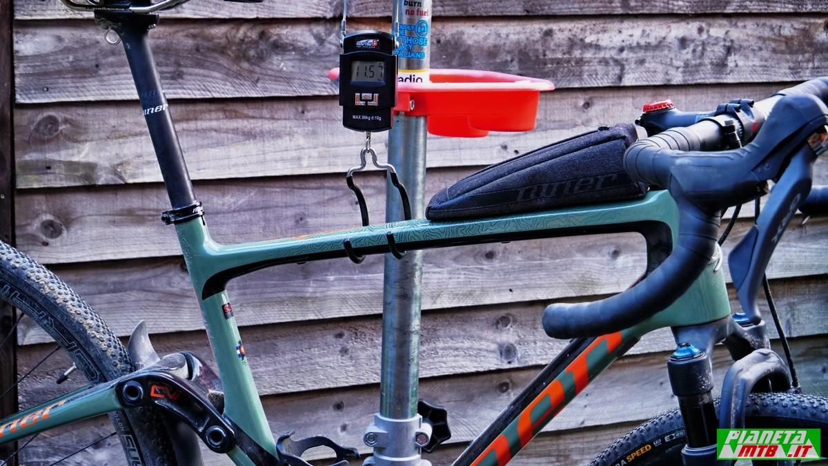 Niner MCR 9 RDO gravel bike - peso