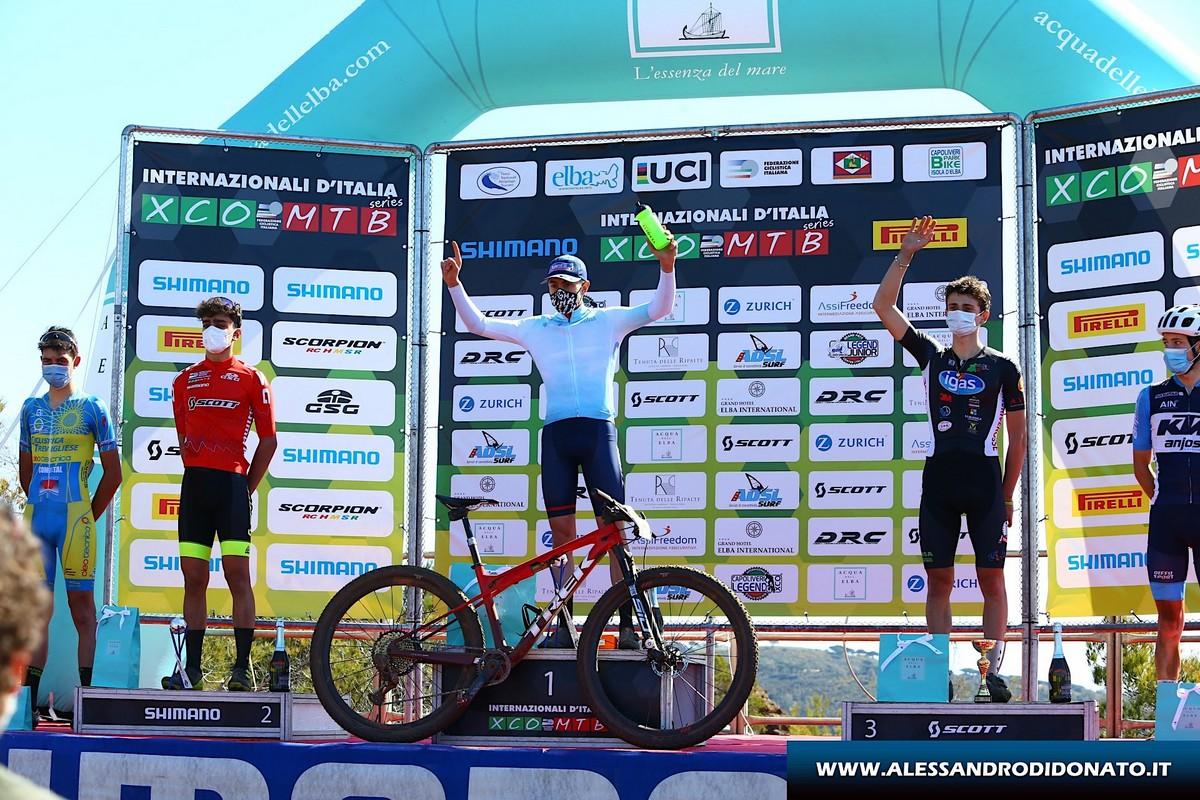 Capoliveri Legend XCO - gara Junior maschile