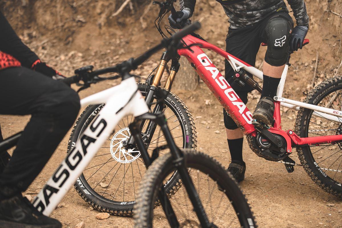 E-bike Gas Gas Bicycle