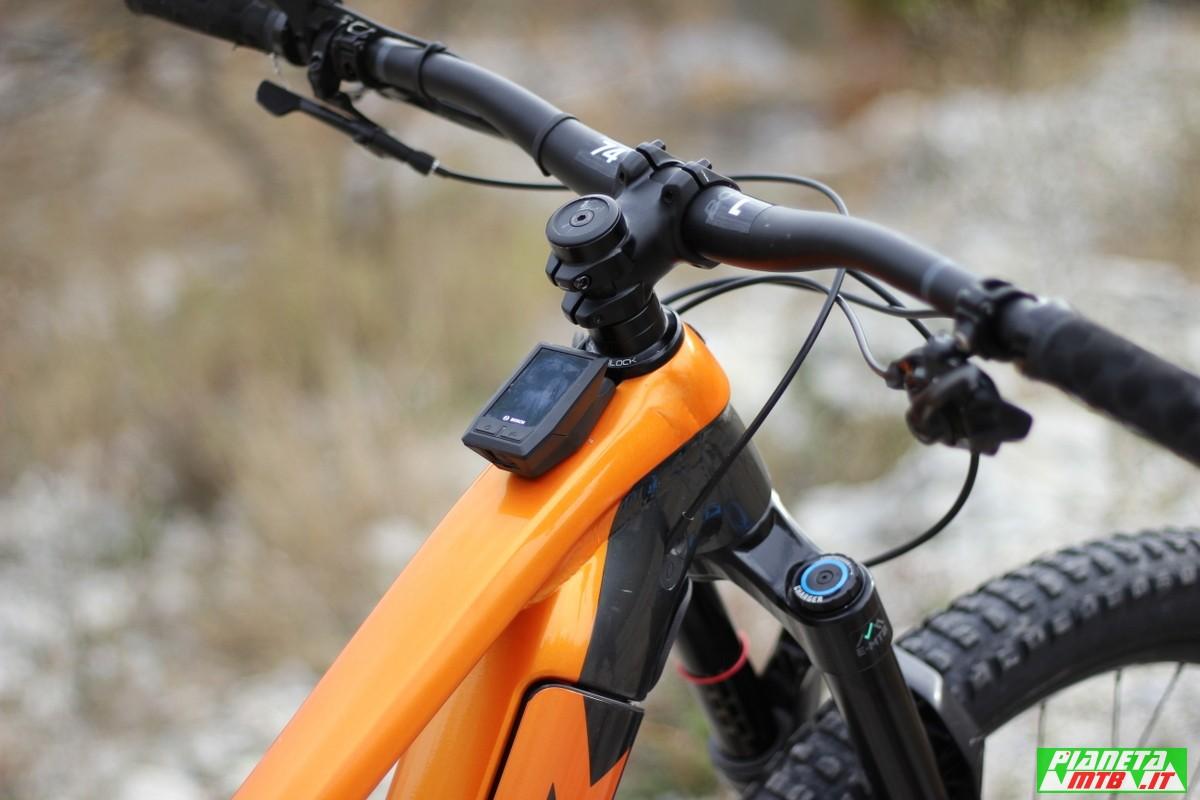 Bosch Kiox su Trek Rail 9