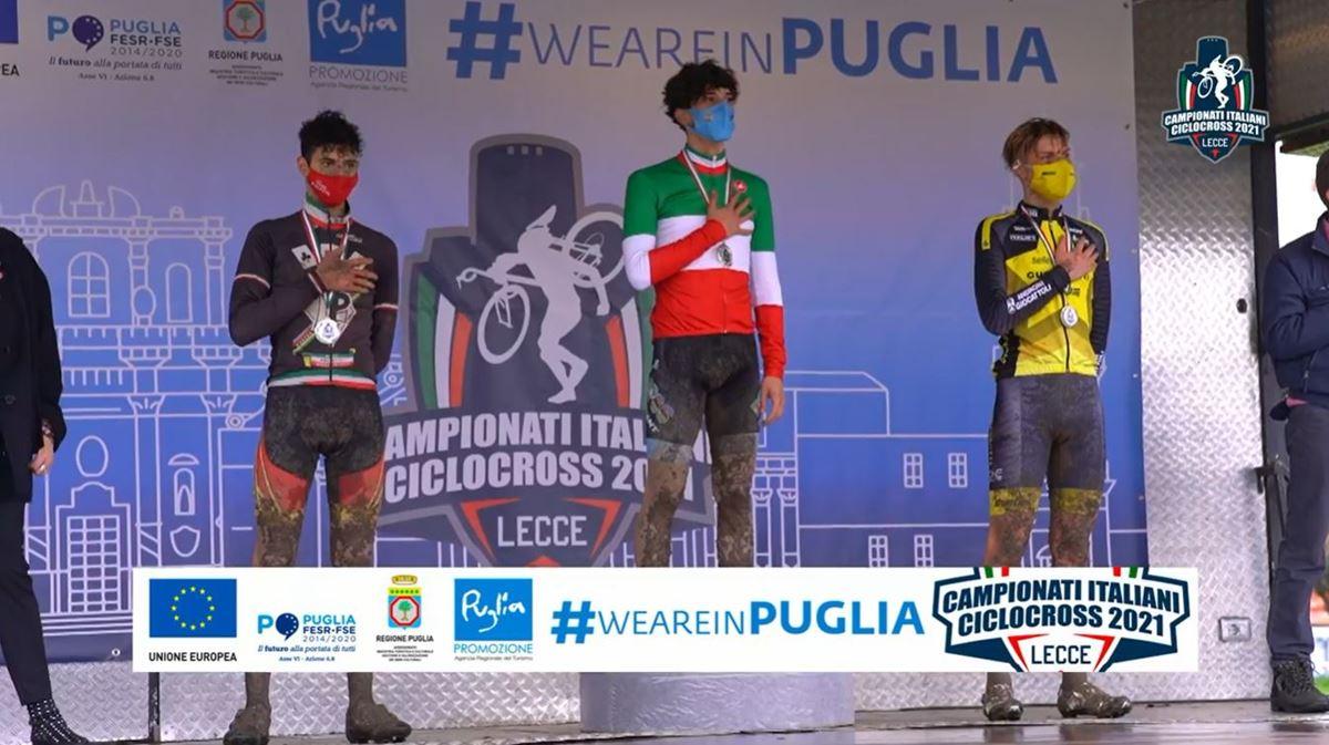 Campionati Italiani Ciclocross 2021, Bryan Olivo trionfa nella categoria juniores