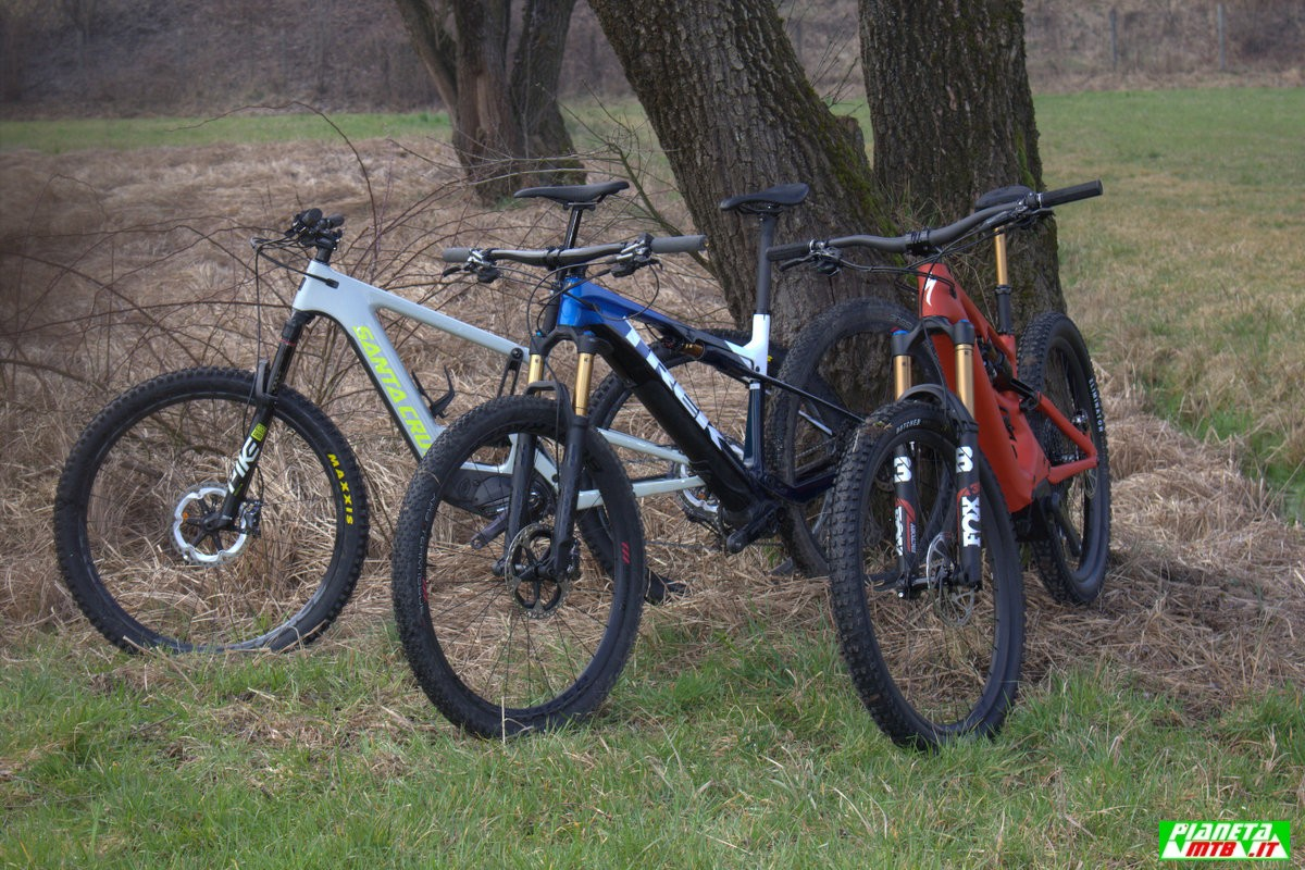 Tre e-mountain bike