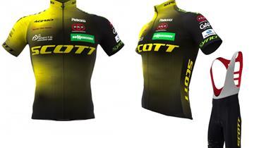Il completo eco sostenibile dello Scott Racing team è in vendita on line