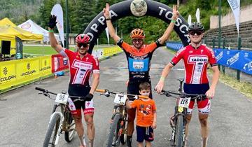 Cicli Taddei sul podio alla Marathon Trofeo del Ciocco e Valle del Serchio