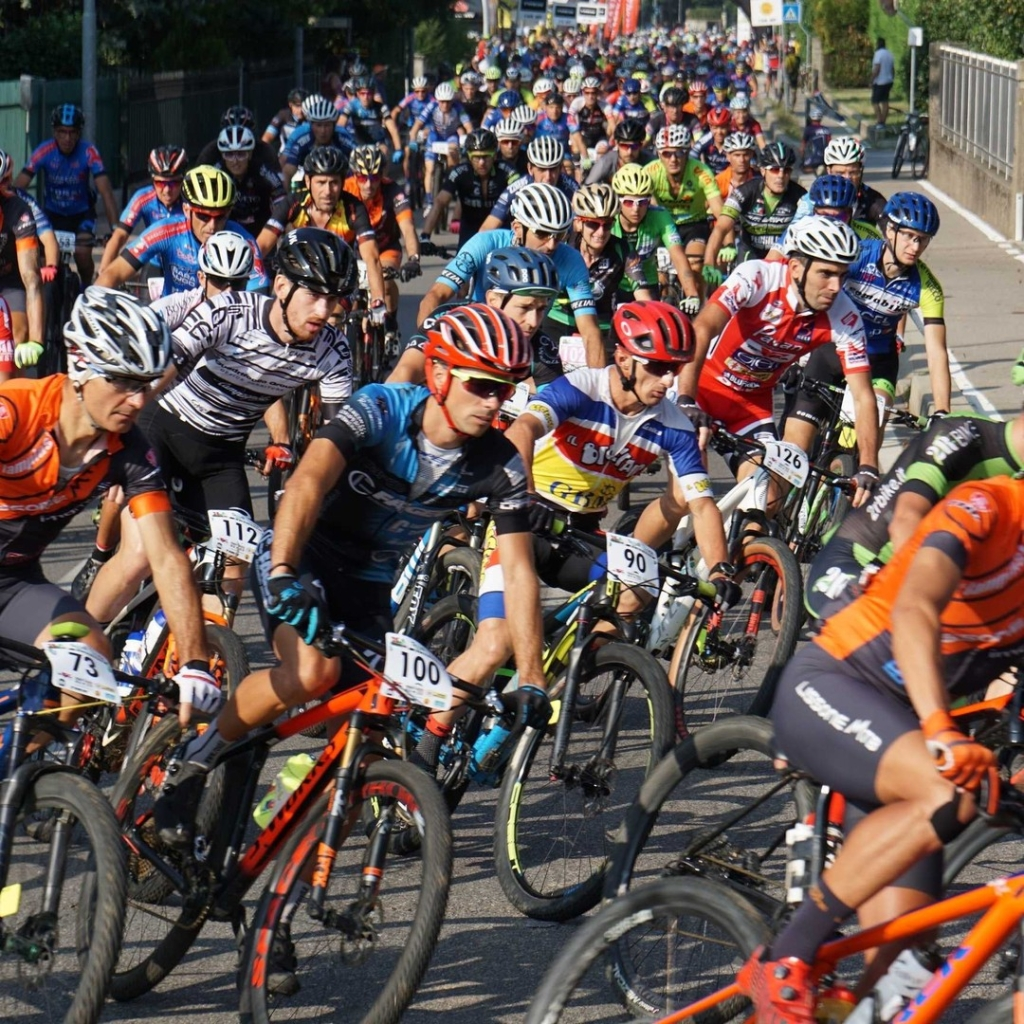 Primi metri della Marathon Bike 2019