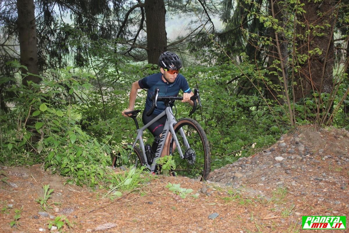 Test Canyon Grizl - gravel bike