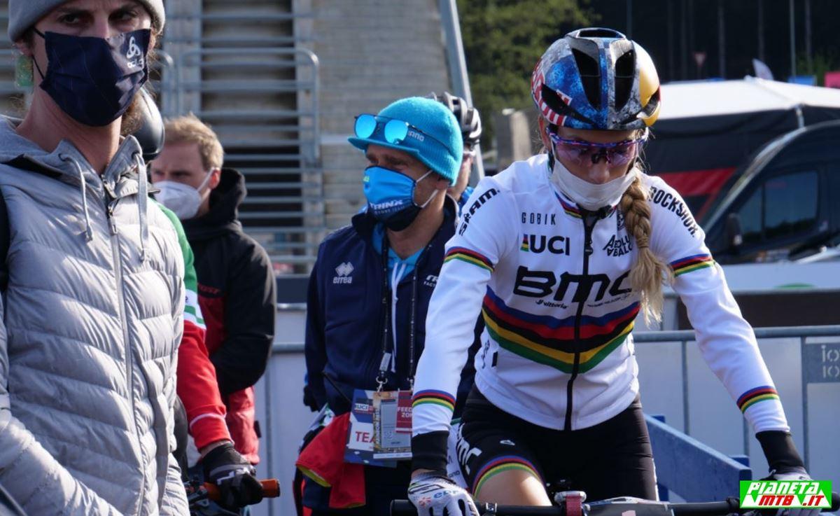 Pauline Prevot Ferrand a Nove Mesto nello Short Track