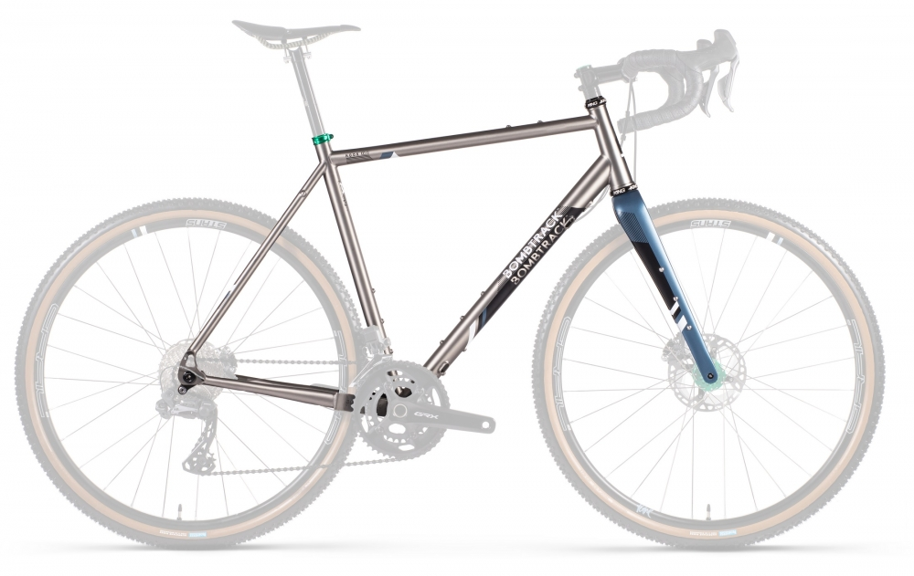 Kit telaio Bombtrack Hook EXT Titanio - gravel bike