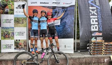 Racing Rosola, podio della Seneci alla Energy Marathon