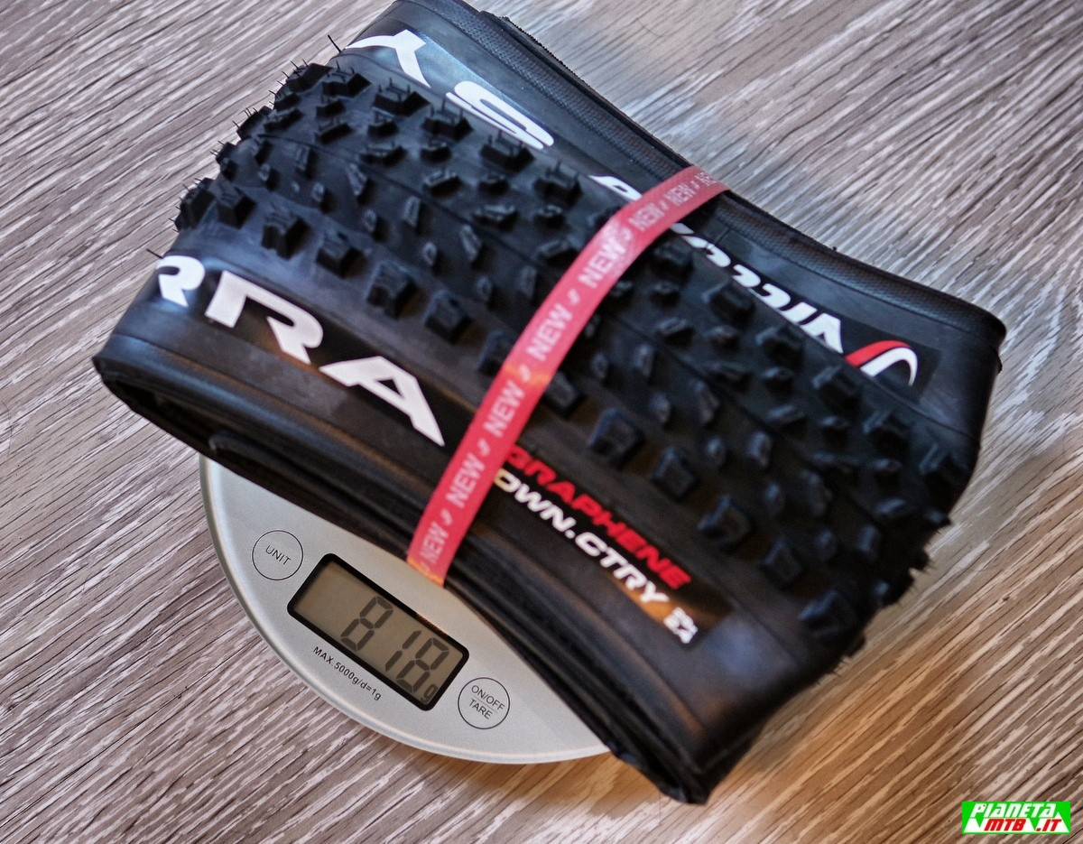Vittoria Syerra 2.4 copertone mountain bike - Peso