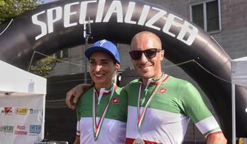 Silvia Scipioni e Andrea d'Oria vincono l'Italiano marathon