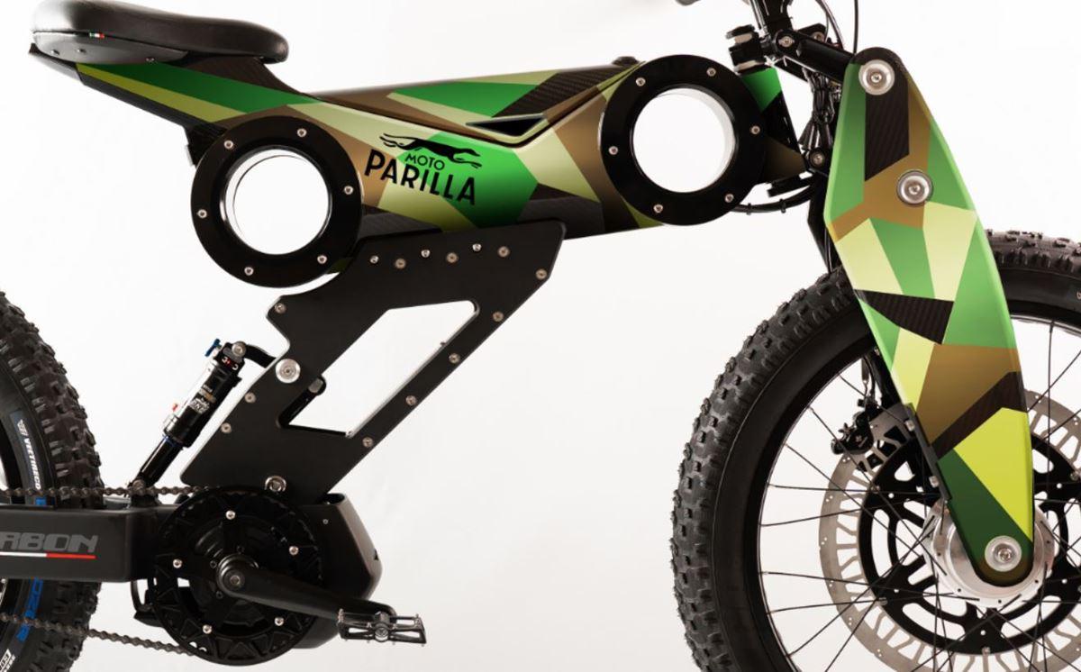 Moto Parilla Mimetica e-bike