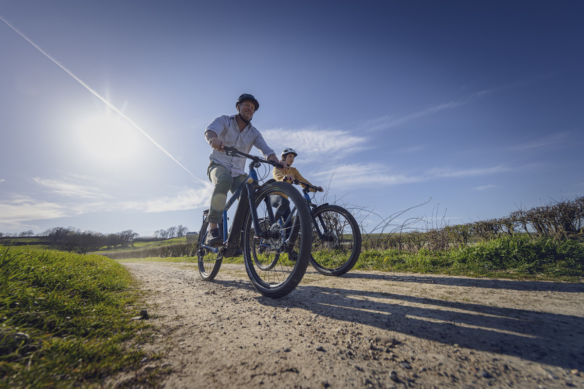 Bici con trasmissione SHIMANO LinkGlide
