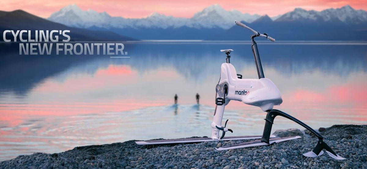 Manta5 - Hydrofoiler XE1 - ebike aquatica